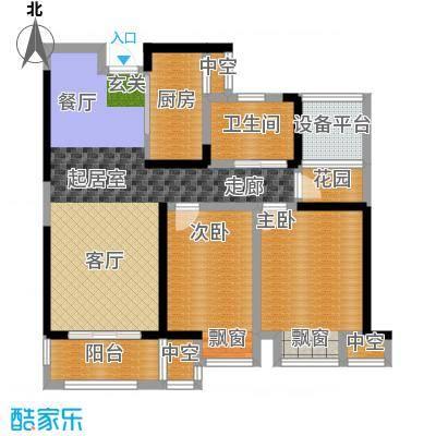 高速中央广场95.02㎡二期高层住宅A2户型