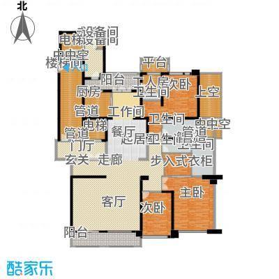 华润中心凯旋门327.00㎡LOONG九--9a户型