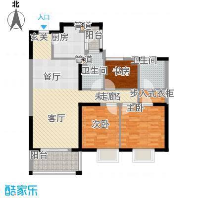 华润中心凯旋门110.00㎡6户型