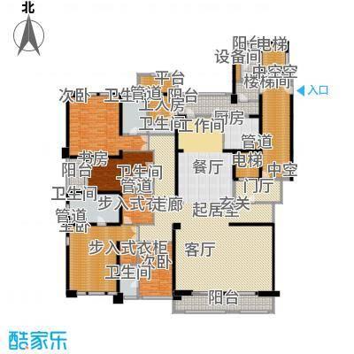 华润中心凯旋门398.00㎡LOONG九--9b户型
