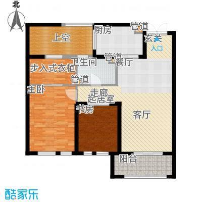 华润中心凯旋门114.00㎡御城领峰户型