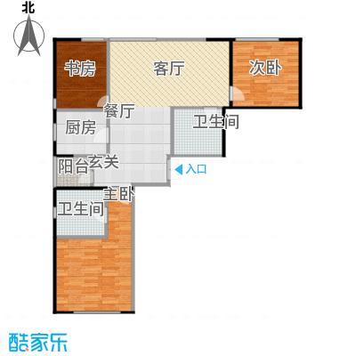 佳兆业中心135.00㎡2号楼A户型