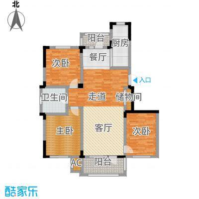 中海御湖熙谷117.00㎡1号楼、A11号楼C3户型