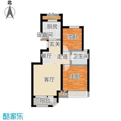 金地艺境92.00㎡小高层10、28号楼A'户型