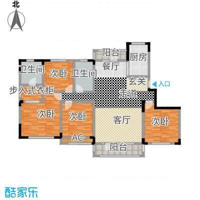 中海御湖熙谷154.00㎡1号楼、A11号楼D1户型