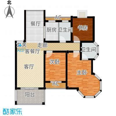 圣地雅格129.00㎡一期多层10#楼标准层K户型