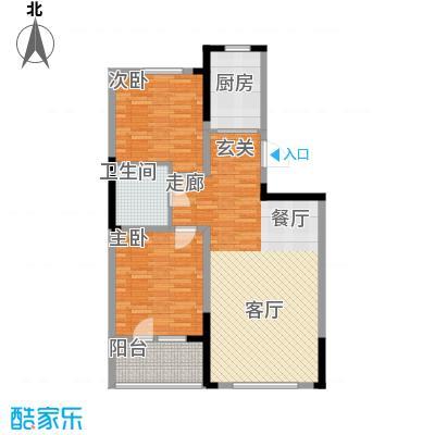 澳海澜郡87.00㎡二期小高层4#/6#楼A4户型