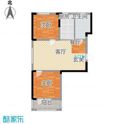 澳海澜郡78.00㎡二期小高层4#/6#楼A1户型