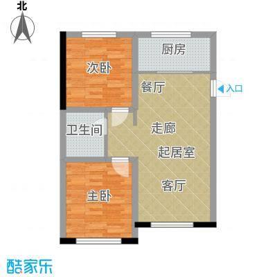 檀香湾91.00㎡C区檀樾D2户型