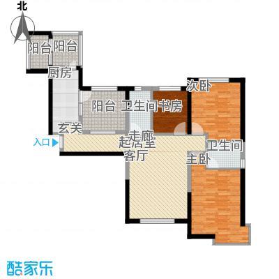 华荣泰时代COSMO138.00㎡二期3#04户型