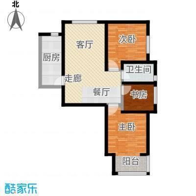 万晟御水湾106.40㎡A2#楼D户型