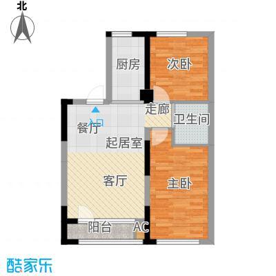 青旅福润家园85.32㎡5#楼03户型