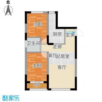 青旅福润家园91.73㎡5#楼04户型