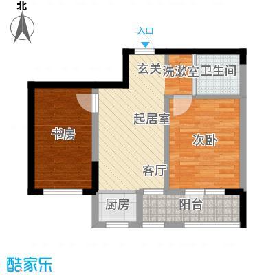 青旅福润家园65.00㎡2#、3#楼04户型