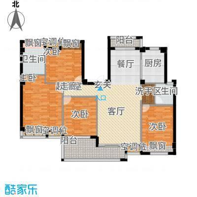 袁河壹品143.49㎡E户型