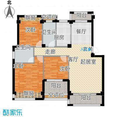 袁河壹品108.46㎡D户型