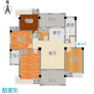 香山听泉136.30㎡D6户型