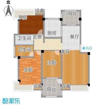 香山听泉115.98㎡D4户型