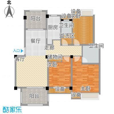香山听泉116.49㎡D5'户型