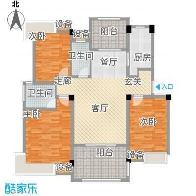 香山听泉116.07㎡D5户型