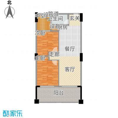 太平湖金龙岛94.30㎡公寓C户型