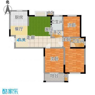 水岸豪庭东苑2户型