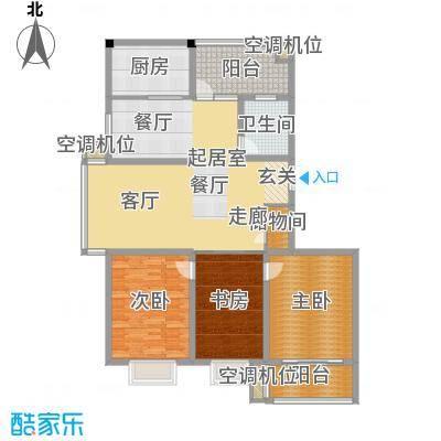 沪太雅苑137.00㎡b2--137户型