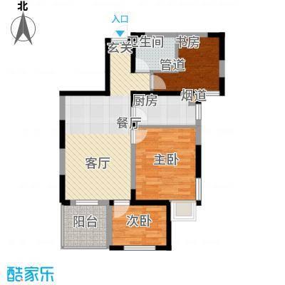 华茂中心89.00㎡央府高层户型