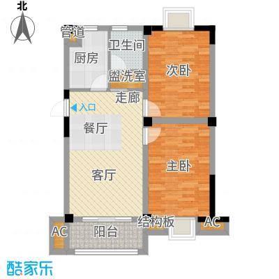 景城名郡1-4#楼、6#、9#楼C(同9#D)户型