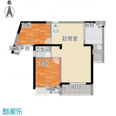 御景龙湾91.25㎡B户型