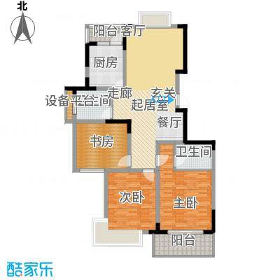 润城东方122.00㎡二期A户型