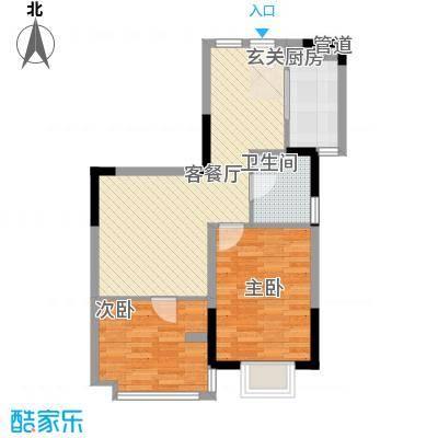 众兴华庭72.00㎡3#5#楼A-05户型