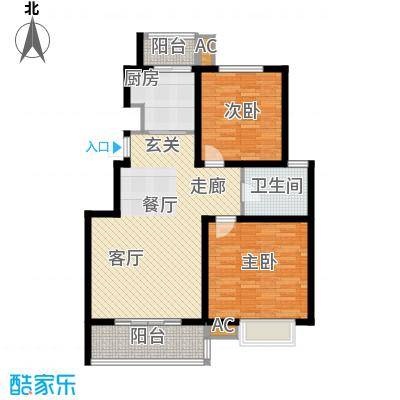 润城东方89.00㎡A2户型