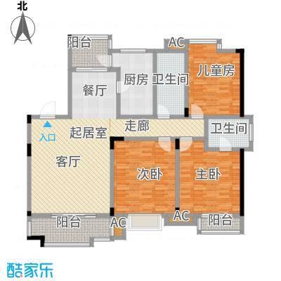 桂竹苑150.09㎡面积15009m户型