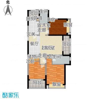 优山美地名邸137.96㎡30#楼B1户型