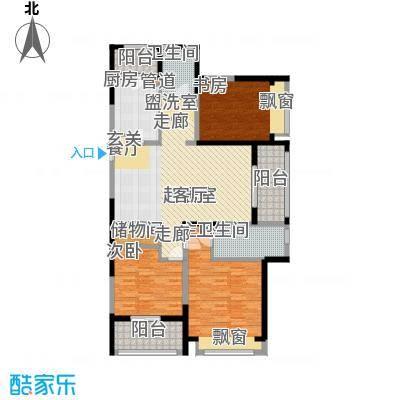优山美地名邸137.96㎡27#、29#楼B1户型