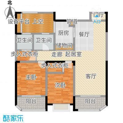 绿地新都会112.00㎡11#西单元、14#中间A3室户型
