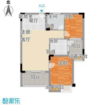 南通碧桂园88.00㎡J475-B户型