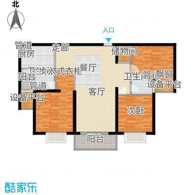 扬州国际公馆117.00㎡二期B2户型