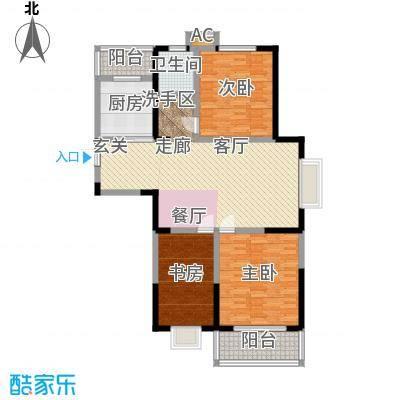 英祥承德公馆112.00㎡二期1号楼C3户型