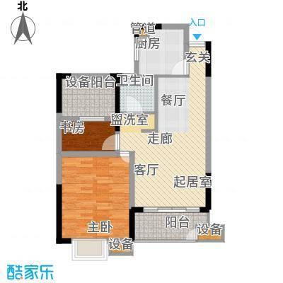 欣明文锦城81.52㎡A7户型