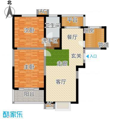 英祥承德公馆97.00㎡二期1号楼A1户型