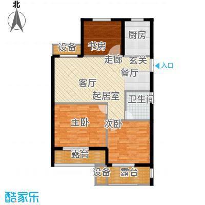 欣明文锦城97.76㎡A3户型