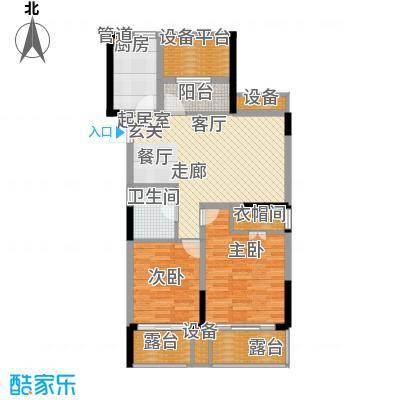 欣明文锦城98.80㎡A6户型