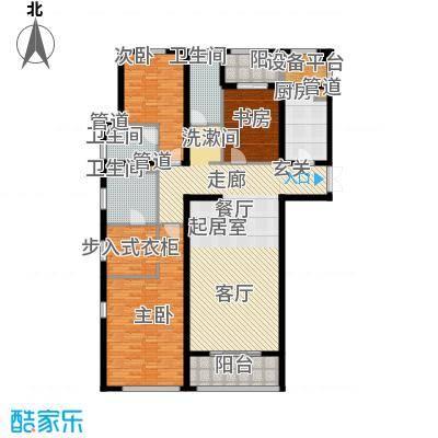 华润中心凯旋门199.00㎡锦园观澜户型