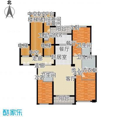 华润中心凯旋门245.00㎡阔境流芳户型