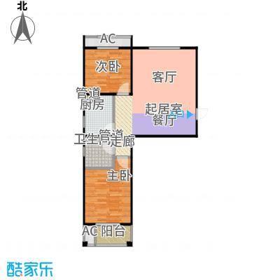 泰和福地水岸12#楼B1户型