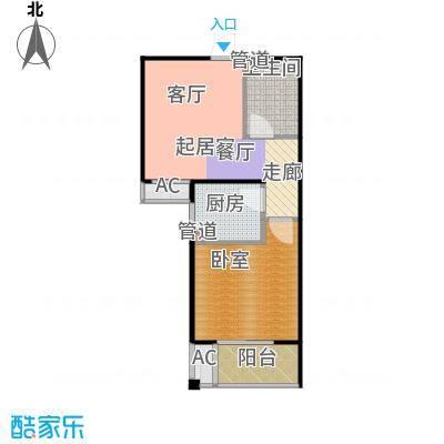 泰和福地水岸8#9#楼E2户型