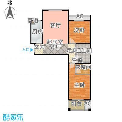 泰和福地水岸已售完8#9#楼E1户型