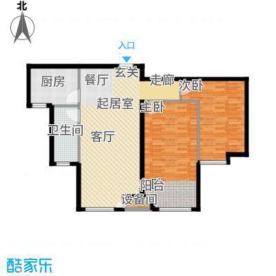 万和蓝山2号楼C2户型